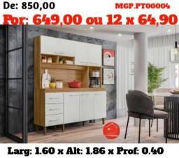 Super Promoção em MS - Armario de Cozinha ou Kit de Cozinha Lindissima - Embalada