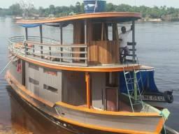 Barco - madeira de lei - 2011