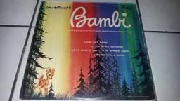 Lp trilha sonora bambi