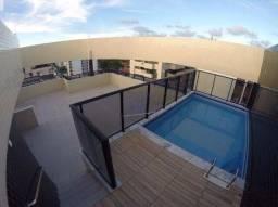 Cobertura com piscina e vista para o mar - Edifício Palazzo Di Mare - Jatiúca