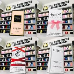 Perfume Trésor Lancôme - Arsenal Women - Ricci Ricci Nina - Eternity Calvin Klein