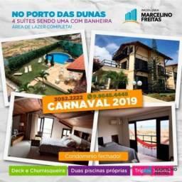 Casa para alugar, 300 m² por R$ 12.000,00/mês - Porto das Dunas - Aquiraz/CE