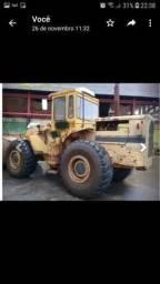Pá Carregadeira CAT 966-C - ano 1989