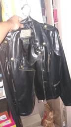 Jaqueta de couro em perfeito estado