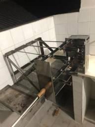 Churrasqueira aço inox Rotolar