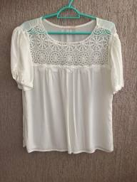 Blusa de Renda ideal para réveillon!!!