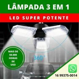 Lâmpada Led 3x1 100W 110/220v Super Potente Regulável - Ref-LA01