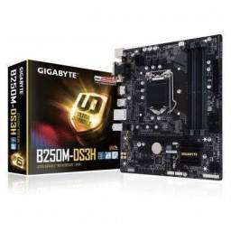 Kit i5 7400 + Placa GIGABYTE GA-B250M-DS3H A DDR4