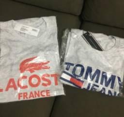 Camisetas lacoste e thommy