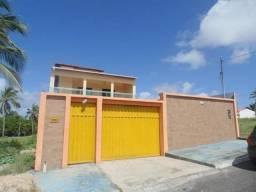 Casa em Salinópolis/PA, 5 suítes e 1 quarto, área da piscina com churrasqueira.