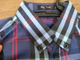 Camisas Xadrezes - Lote