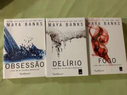Trilogia''Breatheless''- Maya Banks