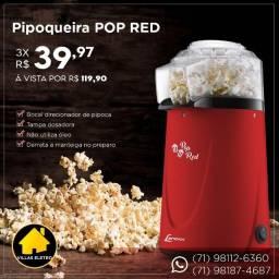 Pipoqueira Elétrica Lenoxx Pop Red - PPC953 Vermelha 127v