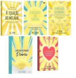 Kit Livros O Milagre Da Manhã