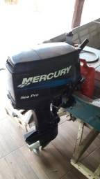 Motor 25hp Mercury 2016