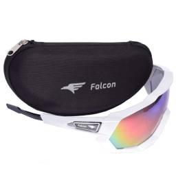 Óculos Ciclismo Bike Falcon Elite Lente Espelhada - Cores