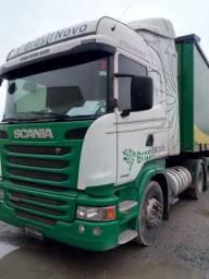 Scania Highline Streamline R 440 6x2 2016 Automático Completo Top