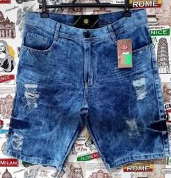 Bermudas Jeans Masculino (Disponivel no 44)