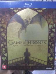 Game of thrones quinta temporada Gold Blu ray