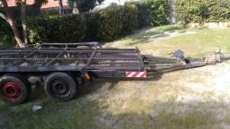 Reboque Carretinha Dois Eixos para Carro, Camionete ou 3 Quadriciclos