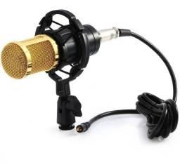 Microfone Estúdio Profissional Condensador Andowl Bm-800 T41