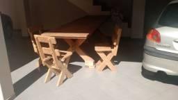 Mesa em Mogno (peça unica / maciça / feita por encomenda) - Raridade