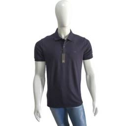 Camisa Gola Polo Ogochi Azul Marinho