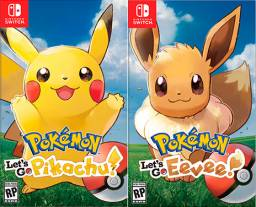Pokemon Lets Go Pikachu e Eevee - NSwitch