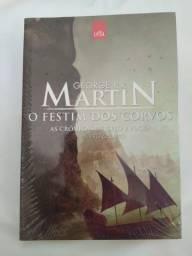 O Festim dos Corvos- As Crônicas de Gelo e Fogo - Livro 4 - George R.R. Martin R$25,00
