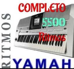 7500 ritmos Yamaha