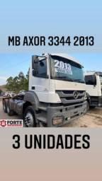 MB 3344 traçado 2013