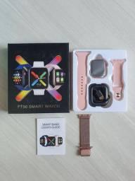 Smartwatch tela infinita Versão q mais se assemelha ao modelo da Apple