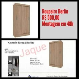 Guarda Roupa Berlin/ Montagem em 48h.