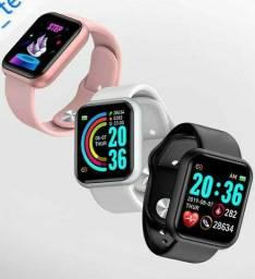 Smartwatch D20 - Relógio Inteligente Y68