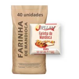 Atacado: Farinha de Mandioca Jopllam 500g - Fardo c/ 20kg