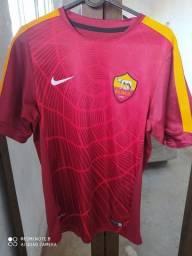 camisa roma - uniforme pré jogo (2014)<br><br><br><br>