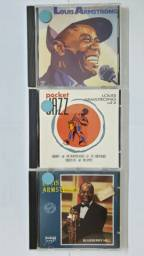 Lote 3 Cds - Louis Armstrong