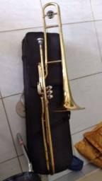 Vendo e troco trombone de pisto todo bom em bicicleta 29