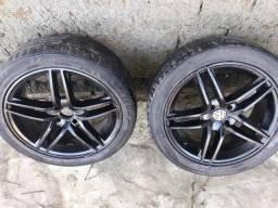 Rodas 17 + 6 pneus 17