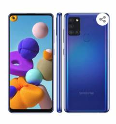 Smartphone Samsung Galaxy A21s Azul 64GB