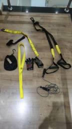 Kit para treinamento funcional.