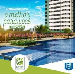 Título do anúncio: Le Vert Boulevard- Oportunidade Farolândia UNIT - A partir de 2 e 3/4 com varanda e suíte