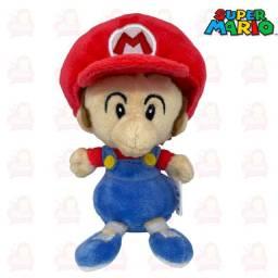 Título do anúncio: Mário e Luigi pelúcias baby é normal