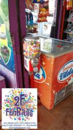 T.E.N.H.A -> UMA -> Vending Machine na SUA -> LOJA -> PARA - F.A.T.U.R.A.R -> MAIS!