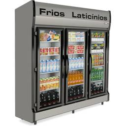 Oferta relâmpago geladeira expositora 3 portas