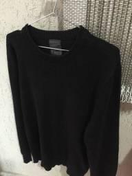 Blusa em suéter masculina Nova