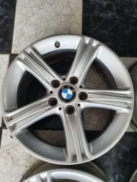 Jogo de rodas BMW 320 aro 17 furacão 5x120 usadas