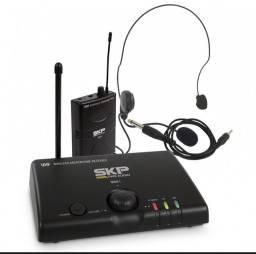 Microfone Auricular Headset/guitar Skp Uhf Mini V Pro Audio
