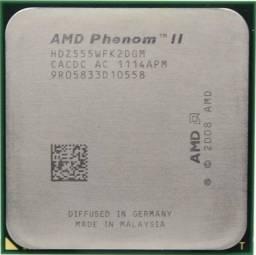 Título do anúncio: Cpu Amd Phenom Ii X2 Hdz555, 3.2 Ghz, Am3 - 311