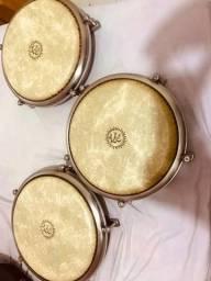 Trio de congas compactas da Pearl